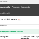 La compatibilité site mobile ou mobile-friendly selon Google